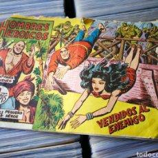 Tebeos: HOMBRES HEROICOS (SERIE EL PEQUEÑO HÉROE)- VENDIDOS AL ENEMIGO. N°3, EDITORIAL MAGA.. Lote 222627096