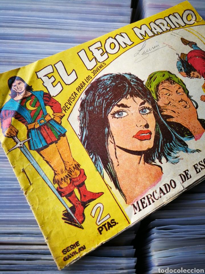 Tebeos: EL LEÓN MARINO- MERCADO DE ESCLAVAS, N°18, EDITORIAL MAGA. - Foto 2 - 222631357
