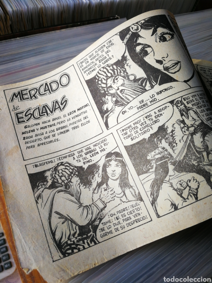 Tebeos: EL LEÓN MARINO- MERCADO DE ESCLAVAS, N°18, EDITORIAL MAGA. - Foto 3 - 222631357