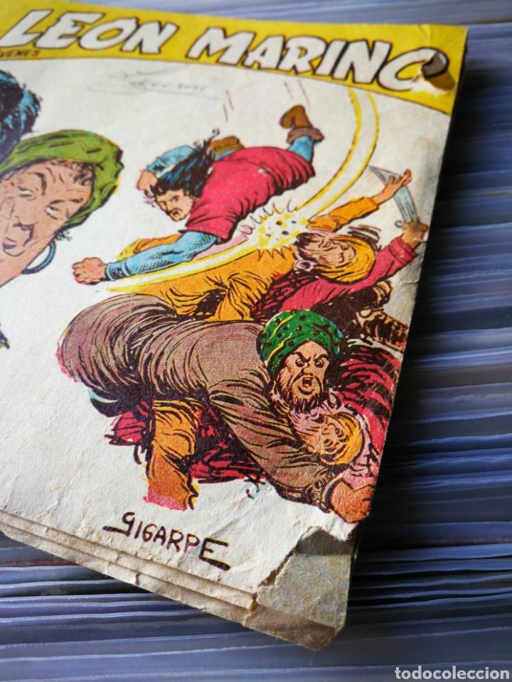 Tebeos: EL LEÓN MARINO- MERCADO DE ESCLAVAS, N°18, EDITORIAL MAGA. - Foto 4 - 222631357