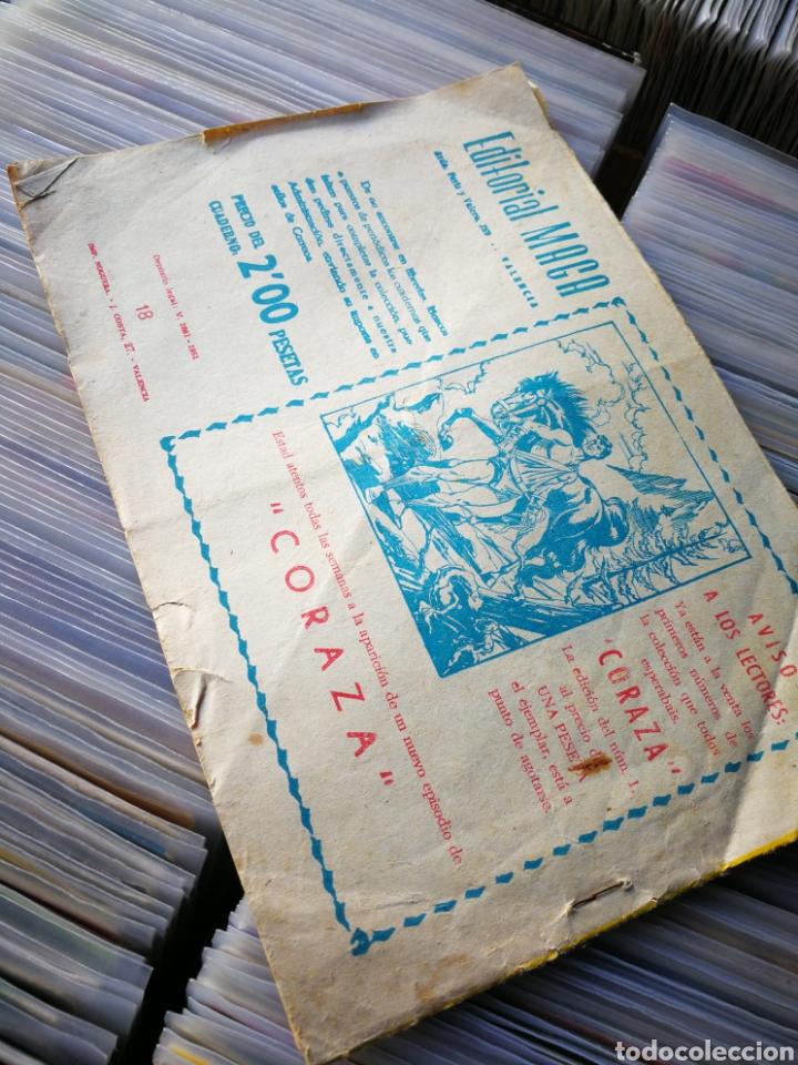 Tebeos: EL LEÓN MARINO- MERCADO DE ESCLAVAS, N°18, EDITORIAL MAGA. - Foto 5 - 222631357
