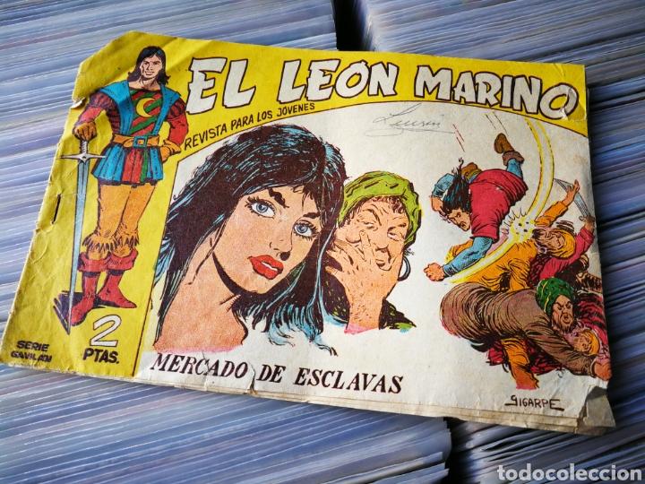 EL LEÓN MARINO- MERCADO DE ESCLAVAS, N°18, EDITORIAL MAGA. (Tebeos y Comics - Maga - Otros)