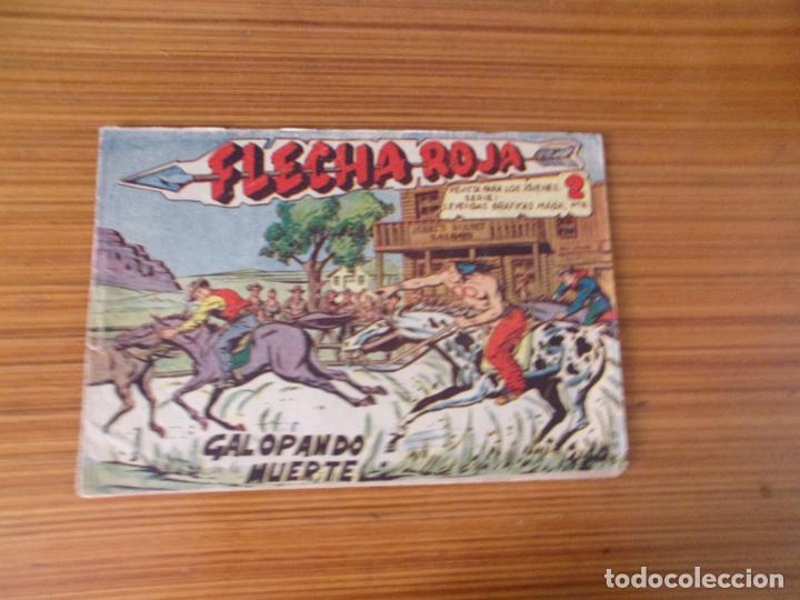 FLECHA ROJA Nº 15 EDITA MAGA (Tebeos y Comics - Maga - Flecha Roja)