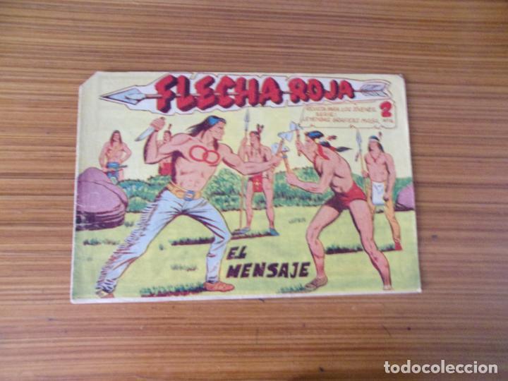FLECHA ROJA Nº 14 EDITA MAGA (Tebeos y Comics - Maga - Flecha Roja)