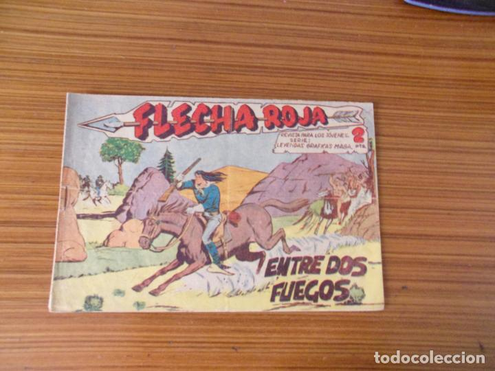 FLECHA ROJA Nº 9 EDITA MAGA (Tebeos y Comics - Maga - Flecha Roja)