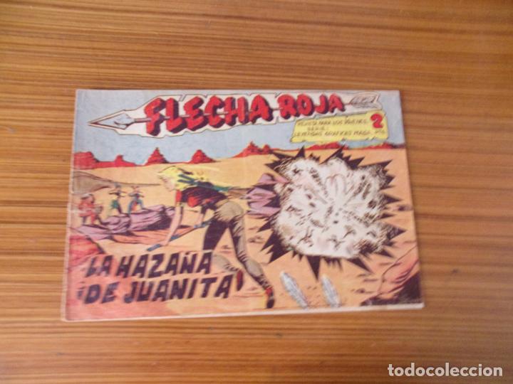 FLECHA ROJA Nº 29 EDITA MAGA (Tebeos y Comics - Maga - Flecha Roja)
