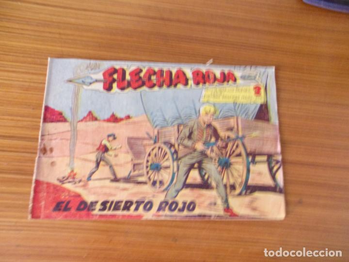 FLECHA ROJA Nº 28 EDITA MAGA (Tebeos y Comics - Maga - Flecha Roja)