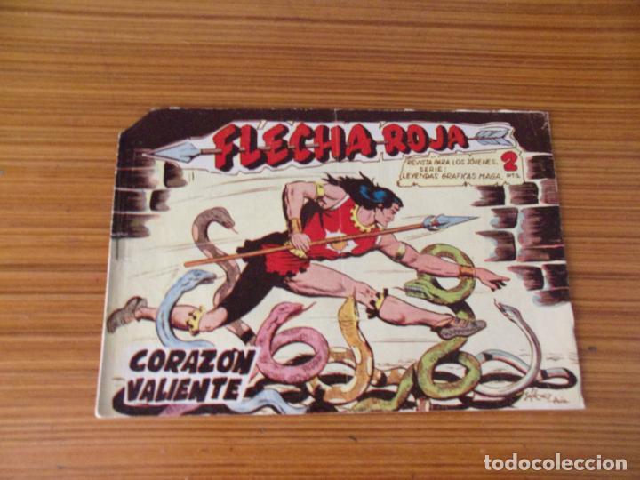 FLECHA ROJA Nº 48 EDITA MAGA (Tebeos y Comics - Maga - Flecha Roja)