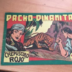 Tebeos: PACHO DINAMITA Nº 132 CREPUSCULO ROJO ORIGINAL (MAGA) (COIB154). Lote 223772207