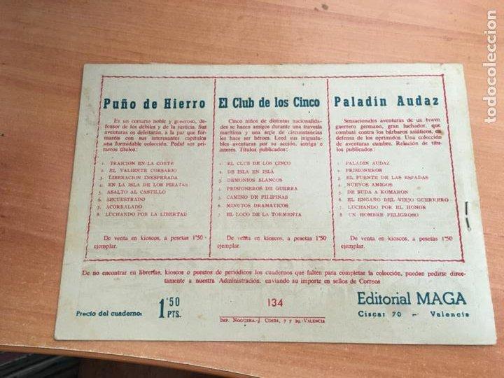 Tebeos: PACHO DINAMITA Nº 134 EL HOMBRE Y EL RIO ORIGINAL (MAGA) (COIB154) - Foto 2 - 223772295
