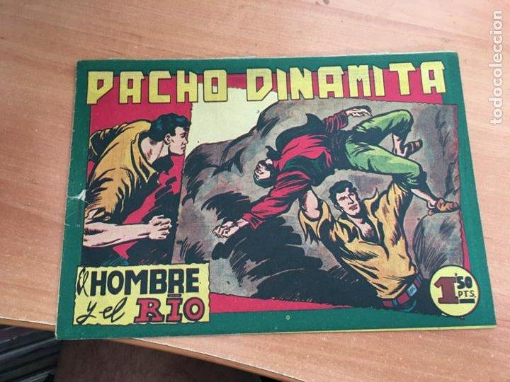PACHO DINAMITA Nº 134 EL HOMBRE Y EL RIO ORIGINAL (MAGA) (COIB154) (Tebeos y Comics - Maga - Pacho Dinamita)