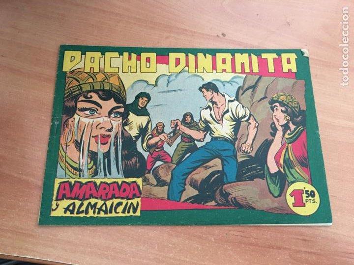 PACHO DINAMITA Nº 136 AMARADA Y ALMAICIN ORIGINAL (MAGA) (COIB154) (Tebeos y Comics - Maga - Pacho Dinamita)