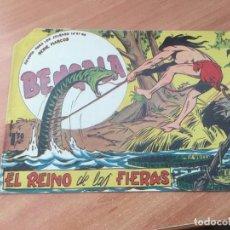 Tebeos: BENGALA Nº 54 EL REINO DE LAS FIERAS. ULTIMO NUMERO (ORIGINAL MAGA) (COIB158). Lote 223977780