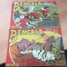 Tebeos: BENGALA 2ª PARTE LOTE Nº 1 Y 2 (ORIGINAL MAGA) (COIB158). Lote 223992181