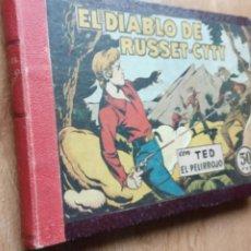 Tebeos: TED EL PELIRROJO ORIGINAL COMPLETA 1 AL 27 - AÑO 1947 BRUGUERA - MIGUEL Y PEDRO QUESADA. Lote 224670720