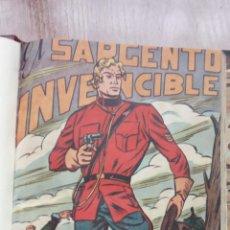 Tebeos: EL SARGENTO INVENCIBLE ORIGINAL COMPLETA AÑO 1951 MAGA - MIGUEL Y PEDRO QUESADA. Lote 224671518
