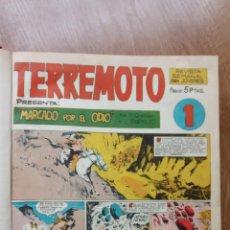Tebeos: TERREMOTO PRESENTA: APACHE - BENGALA - ROQUE BRIO - COMPLETA 1 AL 31. Lote 224674300