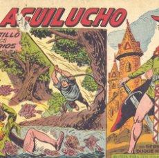 Tebeos: EL AGUILUCHO 25. EDITORIAL MAGA. DIBUJOS DE MANUEL GAGO. Lote 224760892