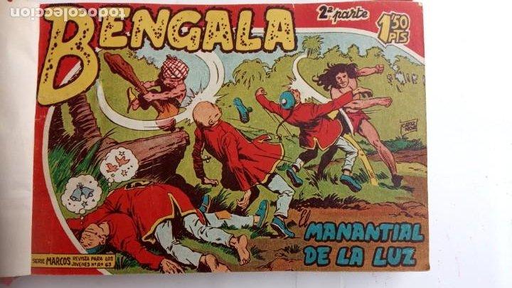 Tebeos: BENGALA 2º SERIE ORIGINAL COMPLETA 1 AL 45 EN MUY BUEN ESTADO, VER TODAS LAS PORTADAS - Foto 5 - 224823047