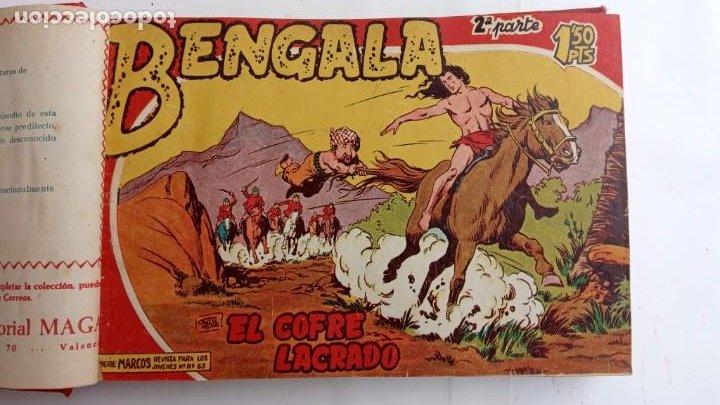 Tebeos: BENGALA 2º SERIE ORIGINAL COMPLETA 1 AL 45 EN MUY BUEN ESTADO, VER TODAS LAS PORTADAS - Foto 7 - 224823047