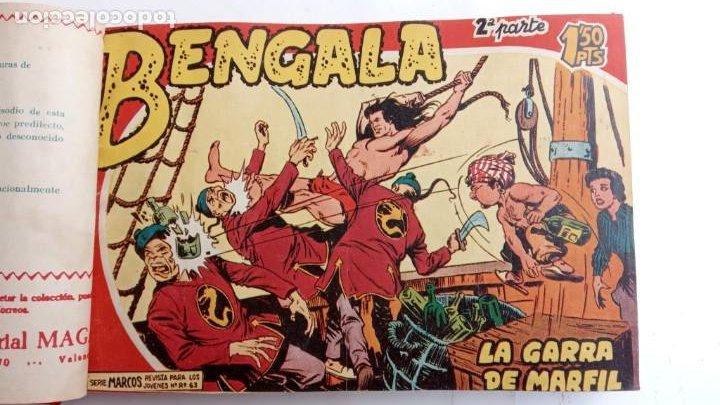 Tebeos: BENGALA 2º SERIE ORIGINAL COMPLETA 1 AL 45 EN MUY BUEN ESTADO, VER TODAS LAS PORTADAS - Foto 8 - 224823047