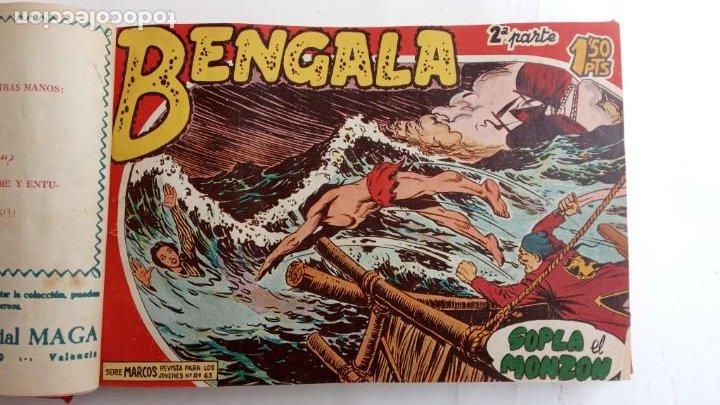 Tebeos: BENGALA 2º SERIE ORIGINAL COMPLETA 1 AL 45 EN MUY BUEN ESTADO, VER TODAS LAS PORTADAS - Foto 11 - 224823047