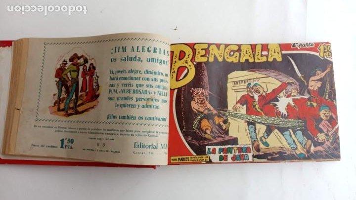 Tebeos: BENGALA 2º SERIE ORIGINAL COMPLETA 1 AL 45 EN MUY BUEN ESTADO, VER TODAS LAS PORTADAS - Foto 15 - 224823047