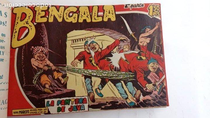 Tebeos: BENGALA 2º SERIE ORIGINAL COMPLETA 1 AL 45 EN MUY BUEN ESTADO, VER TODAS LAS PORTADAS - Foto 16 - 224823047