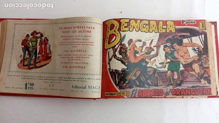 Tebeos: BENGALA 2º SERIE ORIGINAL COMPLETA 1 AL 45 EN MUY BUEN ESTADO, VER TODAS LAS PORTADAS - Foto 21 - 224823047