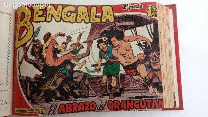 Tebeos: BENGALA 2º SERIE ORIGINAL COMPLETA 1 AL 45 EN MUY BUEN ESTADO, VER TODAS LAS PORTADAS - Foto 22 - 224823047