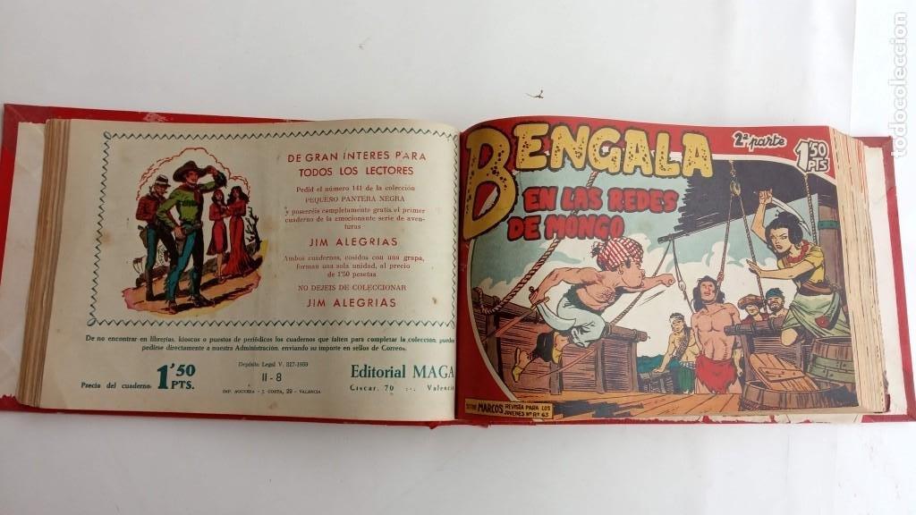 Tebeos: BENGALA 2º SERIE ORIGINAL COMPLETA 1 AL 45 EN MUY BUEN ESTADO, VER TODAS LAS PORTADAS - Foto 23 - 224823047