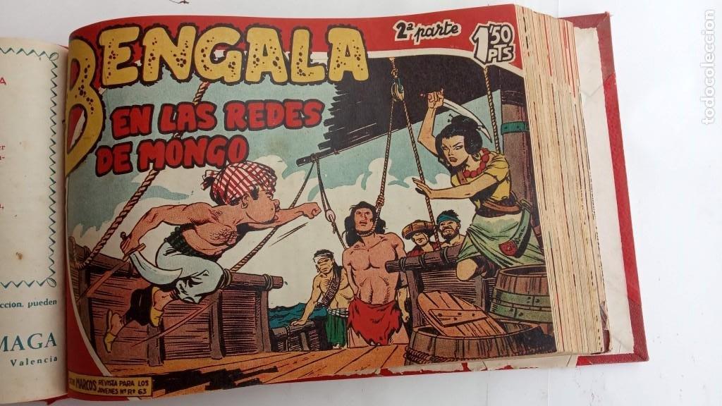 Tebeos: BENGALA 2º SERIE ORIGINAL COMPLETA 1 AL 45 EN MUY BUEN ESTADO, VER TODAS LAS PORTADAS - Foto 24 - 224823047