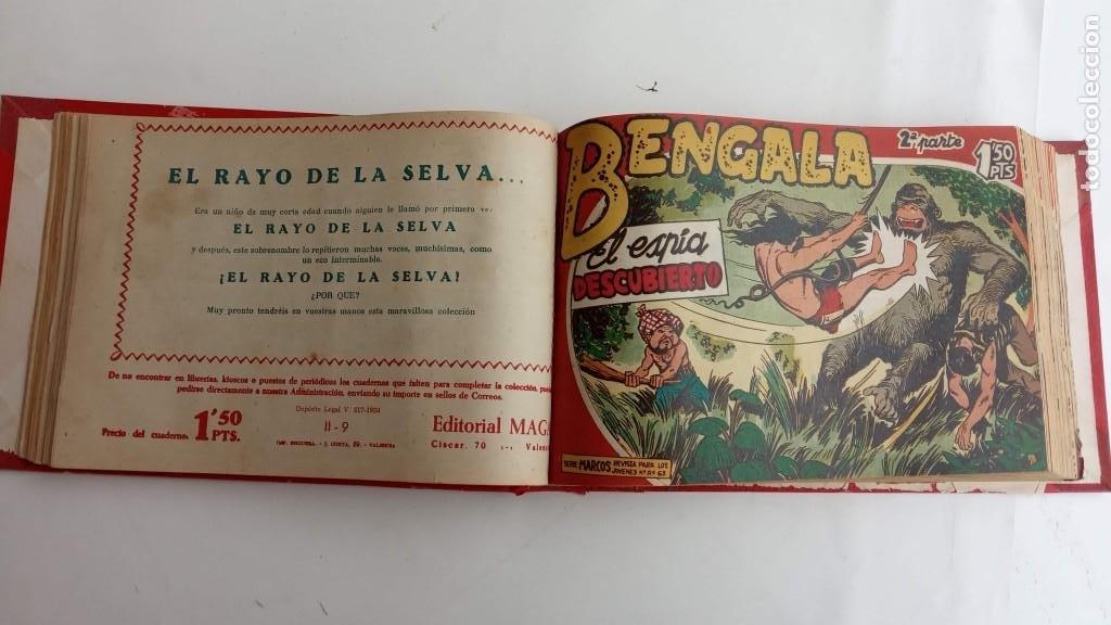 Tebeos: BENGALA 2º SERIE ORIGINAL COMPLETA 1 AL 45 EN MUY BUEN ESTADO, VER TODAS LAS PORTADAS - Foto 25 - 224823047