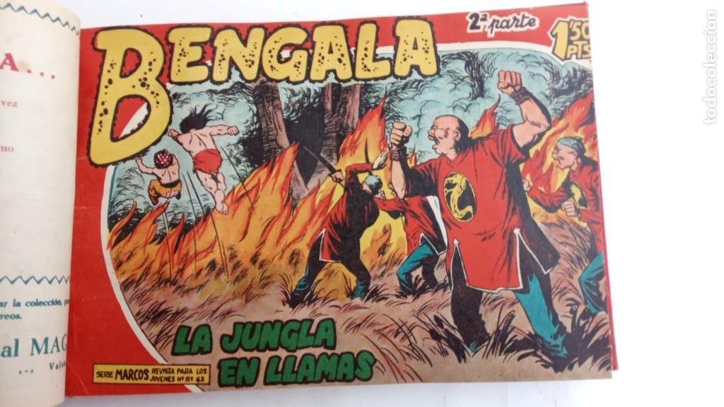 Tebeos: BENGALA 2º SERIE ORIGINAL COMPLETA 1 AL 45 EN MUY BUEN ESTADO, VER TODAS LAS PORTADAS - Foto 27 - 224823047