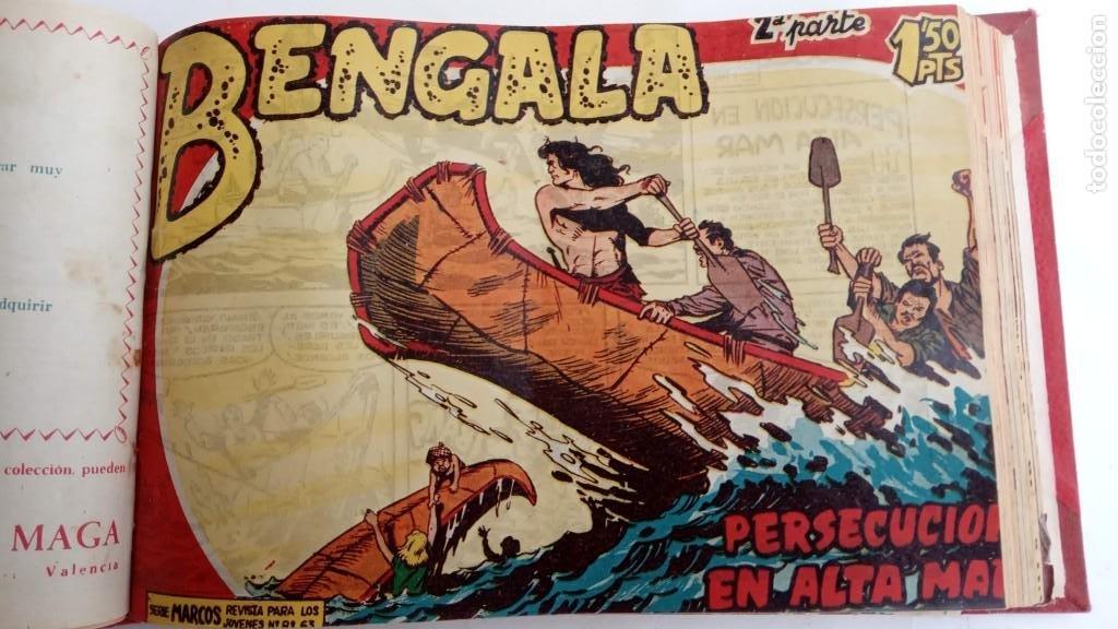 Tebeos: BENGALA 2º SERIE ORIGINAL COMPLETA 1 AL 45 EN MUY BUEN ESTADO, VER TODAS LAS PORTADAS - Foto 31 - 224823047