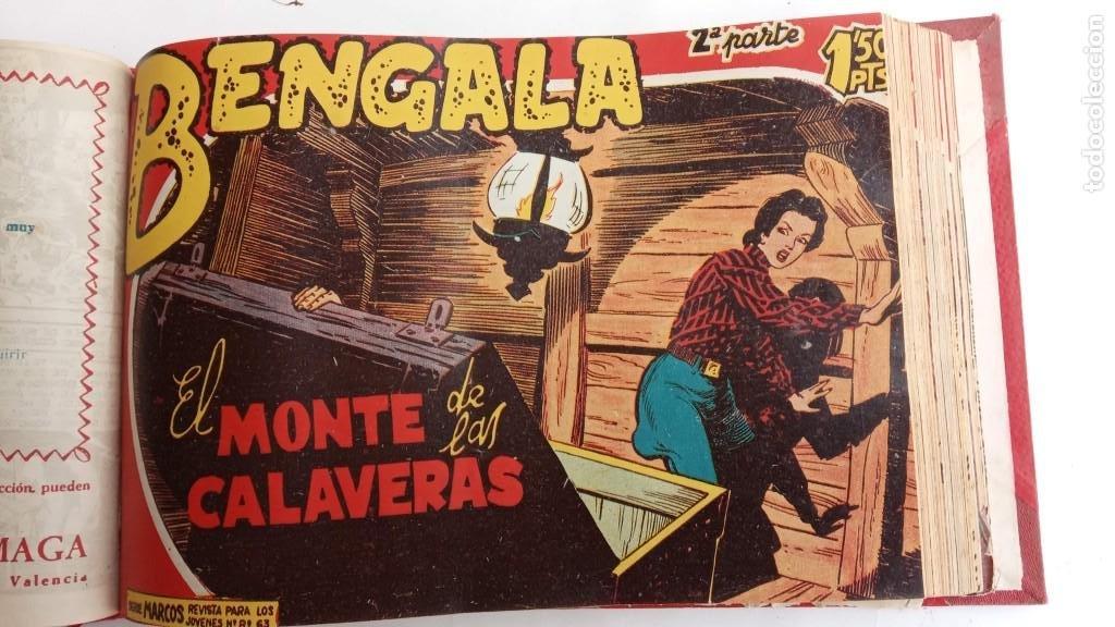 Tebeos: BENGALA 2º SERIE ORIGINAL COMPLETA 1 AL 45 EN MUY BUEN ESTADO, VER TODAS LAS PORTADAS - Foto 33 - 224823047