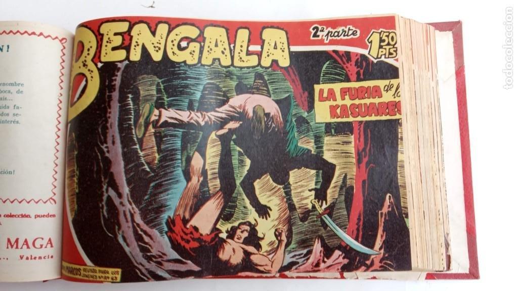 Tebeos: BENGALA 2º SERIE ORIGINAL COMPLETA 1 AL 45 EN MUY BUEN ESTADO, VER TODAS LAS PORTADAS - Foto 38 - 224823047
