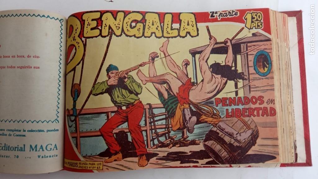 Tebeos: BENGALA 2º SERIE ORIGINAL COMPLETA 1 AL 45 EN MUY BUEN ESTADO, VER TODAS LAS PORTADAS - Foto 40 - 224823047