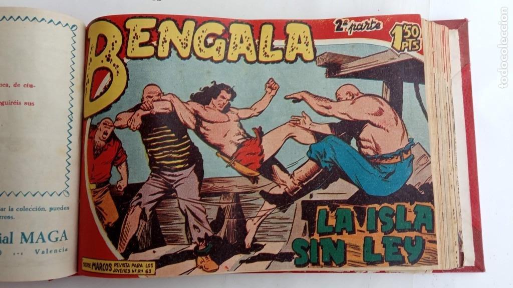 Tebeos: BENGALA 2º SERIE ORIGINAL COMPLETA 1 AL 45 EN MUY BUEN ESTADO, VER TODAS LAS PORTADAS - Foto 41 - 224823047