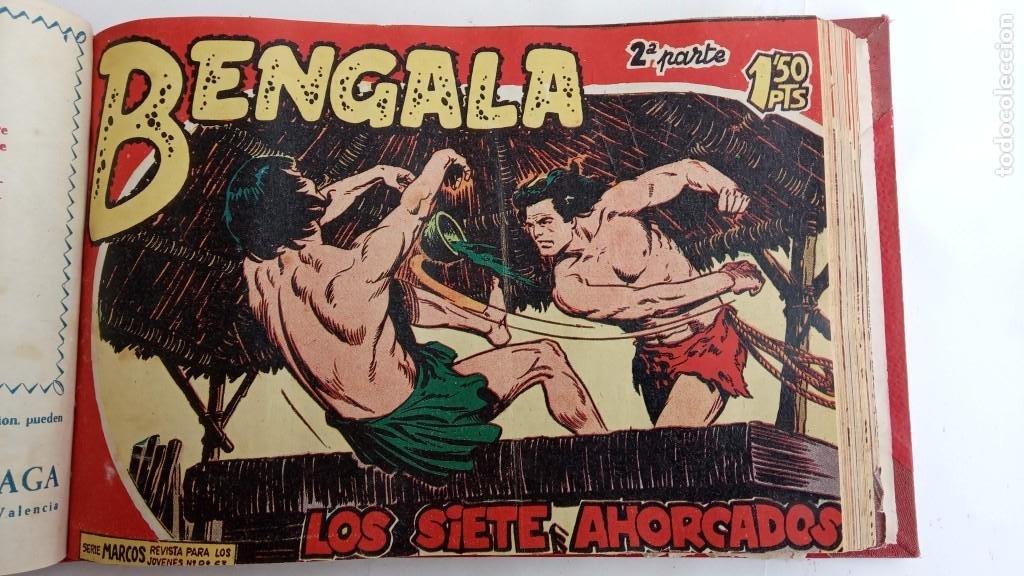 Tebeos: BENGALA 2º SERIE ORIGINAL COMPLETA 1 AL 45 EN MUY BUEN ESTADO, VER TODAS LAS PORTADAS - Foto 42 - 224823047