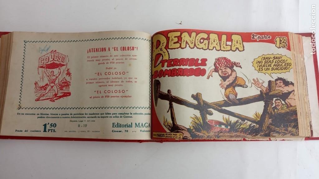 Tebeos: BENGALA 2º SERIE ORIGINAL COMPLETA 1 AL 45 EN MUY BUEN ESTADO, VER TODAS LAS PORTADAS - Foto 44 - 224823047
