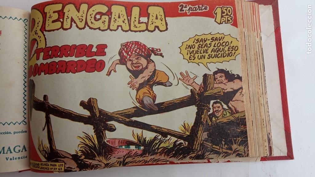 Tebeos: BENGALA 2º SERIE ORIGINAL COMPLETA 1 AL 45 EN MUY BUEN ESTADO, VER TODAS LAS PORTADAS - Foto 45 - 224823047