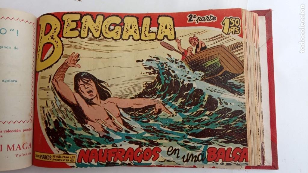 Tebeos: BENGALA 2º SERIE ORIGINAL COMPLETA 1 AL 45 EN MUY BUEN ESTADO, VER TODAS LAS PORTADAS - Foto 48 - 224823047