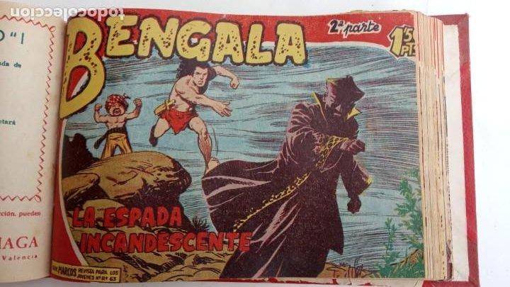 Tebeos: BENGALA 2º SERIE ORIGINAL COMPLETA 1 AL 45 EN MUY BUEN ESTADO, VER TODAS LAS PORTADAS - Foto 51 - 224823047