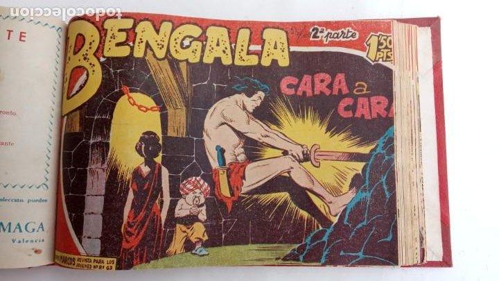 Tebeos: BENGALA 2º SERIE ORIGINAL COMPLETA 1 AL 45 EN MUY BUEN ESTADO, VER TODAS LAS PORTADAS - Foto 52 - 224823047