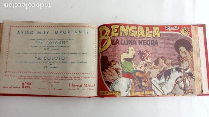 Tebeos: BENGALA 2º SERIE ORIGINAL COMPLETA 1 AL 45 EN MUY BUEN ESTADO, VER TODAS LAS PORTADAS - Foto 53 - 224823047