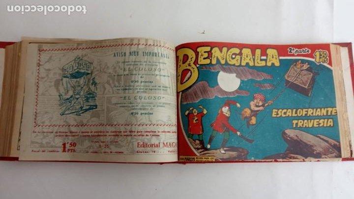 Tebeos: BENGALA 2º SERIE ORIGINAL COMPLETA 1 AL 45 EN MUY BUEN ESTADO, VER TODAS LAS PORTADAS - Foto 55 - 224823047