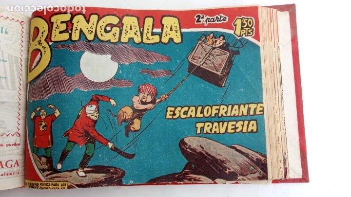 Tebeos: BENGALA 2º SERIE ORIGINAL COMPLETA 1 AL 45 EN MUY BUEN ESTADO, VER TODAS LAS PORTADAS - Foto 56 - 224823047