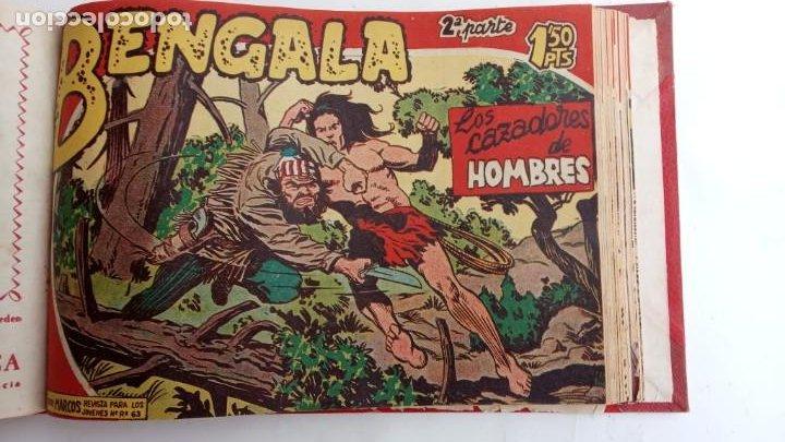 Tebeos: BENGALA 2º SERIE ORIGINAL COMPLETA 1 AL 45 EN MUY BUEN ESTADO, VER TODAS LAS PORTADAS - Foto 61 - 224823047