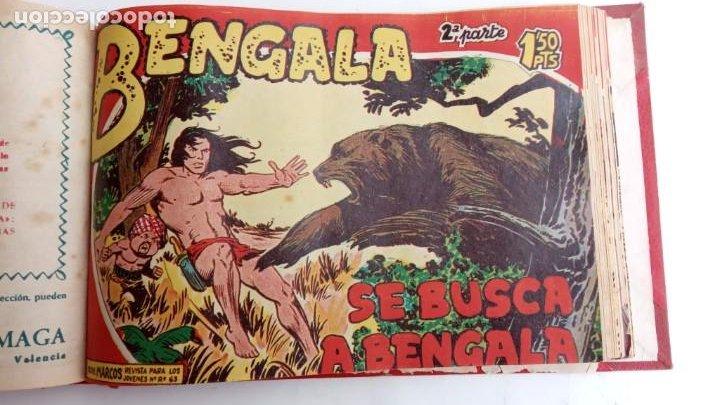 Tebeos: BENGALA 2º SERIE ORIGINAL COMPLETA 1 AL 45 EN MUY BUEN ESTADO, VER TODAS LAS PORTADAS - Foto 62 - 224823047